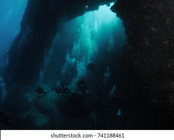 Scuba Diving in Malta - Blue Hole - Gozo