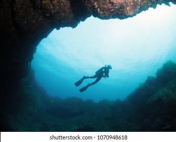 Scuba Diving in Malta - Dwejra, Gozo