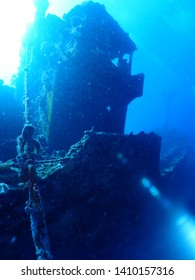 Scuba Diving wreck in Rabaul called Atun Wreck thats located in 13 m depth . Diving in Papua New Guinea is worth it !Great coral growth on the wheelhouse at the wreck