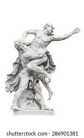 Sculptural Composition - Hercules Wrestling Antaeus. Hofburg. Vienna.Austria.
