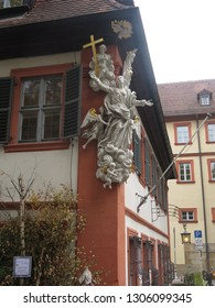 sculptural decoration in Bamberg, Germany -30.10.2018