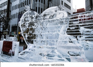 Sculpture in 2017 Sapporo Snow Festival