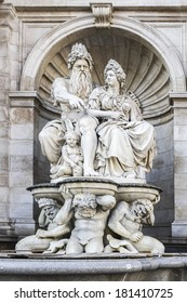 Sculpture at Albertina. Albertina is a museum in the Innere Stadt (First District) of Vienna, Austria.