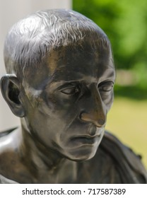 Sculpture of the ancient Greek. Bust of Cicero.
