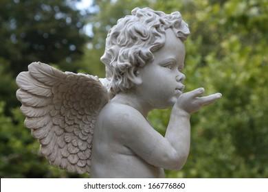 Sculpture, Angel, Guardian Angel