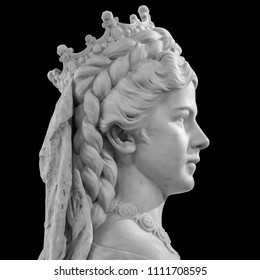 Sculpture of Empress Elisabeth of Austria and Queen of Hungary