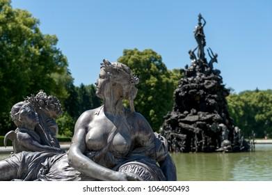 Sculpture in Herreninsel, Chiemsee