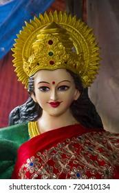 Sculpture of Hindu Goddess Durga