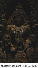 Sculpture of an Indian godess