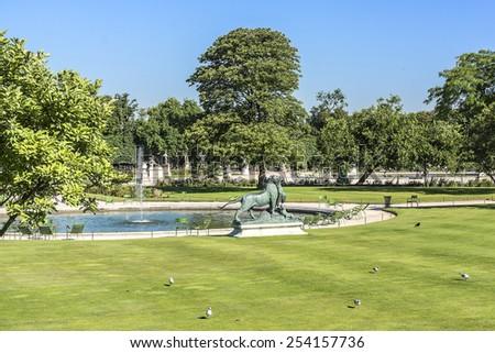 Sculpture Jardin Des Tuileries Tuileries Garden Stock Photo Edit