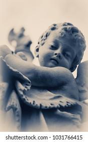 Sculpture of a litle angel
