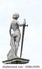 Sculpture in the Luxembourg Garden, created in 1612 by Marie de' Medici, the widow of King Henry IV of France