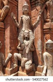 Sculpture in Myanmar