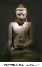 Sculpture of stone Budha
