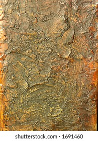 Sculptured copper sheet