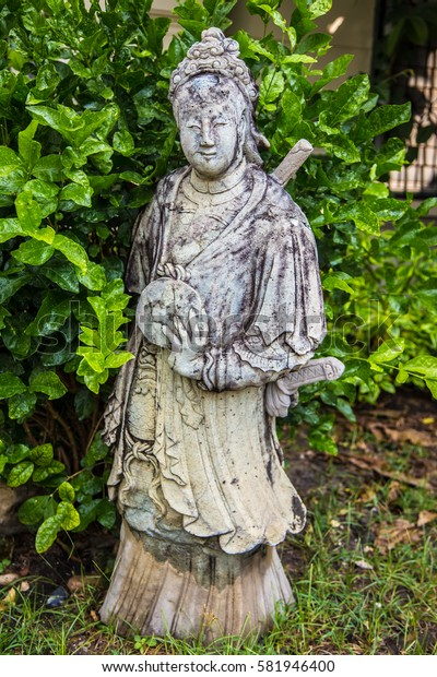 Sculptures of religion, a statue presents the lord