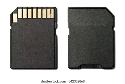 SD Card Adapter on White background