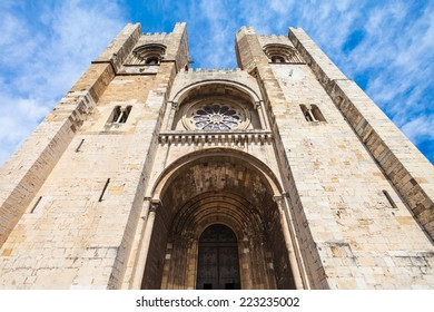 Se Cathedral (The Patriarchal Cathedral of St. Mary Major) in Lisbon, Portugal