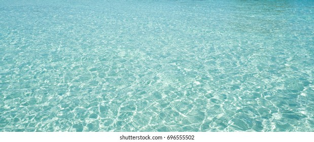 Sea background with perfect white sand in Lipe ,Satun province , Thailand