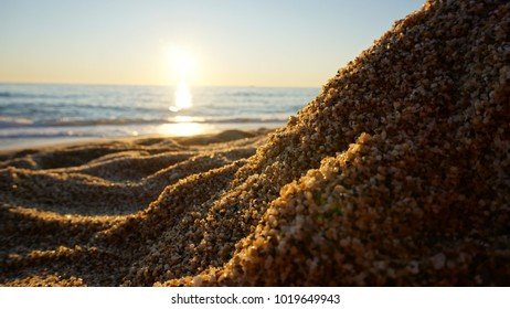 Sea from beach