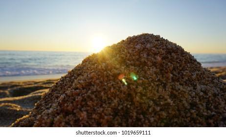 Sea from beach Alanya