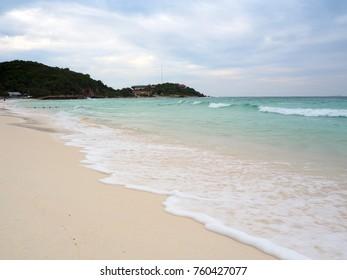 Sea beach at Lan island