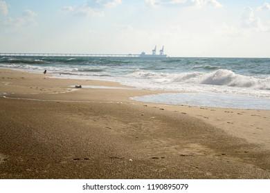 sea, beach, summer Ashkelon National Park, Israel