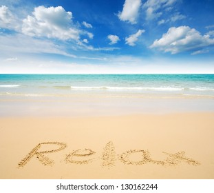 sea beach in thailand sea sand sun blue sky cloud relaxation sunlight tourism background
