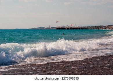 Sea beach, Turkey, Alanya