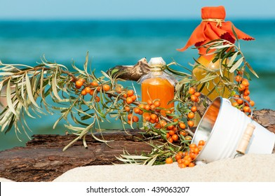 Sea buckthorn products; Hippophae rhamnoides; Coastal specialty; Healthy wild berries
