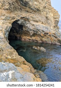 Sea Cave at Sacred Cove, Rancho Palos Verdes, California
