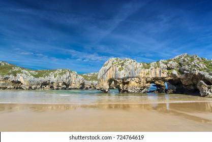 Sea caves,Asturias