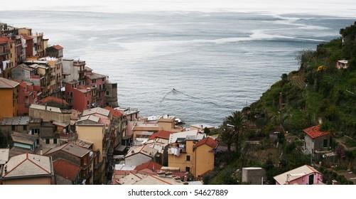Sea of Cinqueterre, Italy