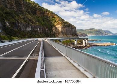 Sea Cliff Bridge along the Grand Pacific Drive, New South Wales, Australia