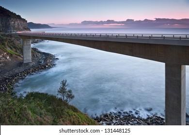 sea cliff bridge / costal bridge