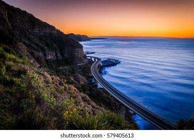 Sea Cliff Bridge, New South Wales Australia