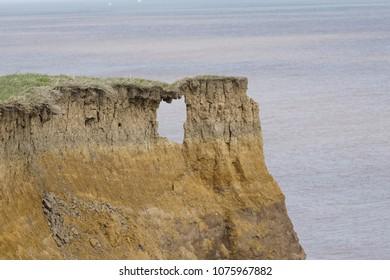 Sea Cliff Erosion at Aldborough
