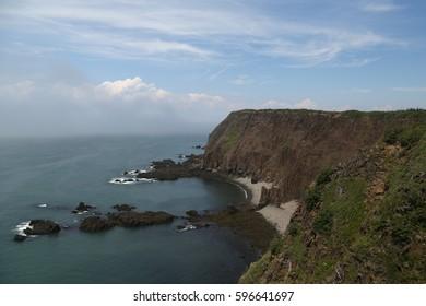 Sea Cliffs near Southwest Head, Grand Manan Island, Nova Scotia, Canada