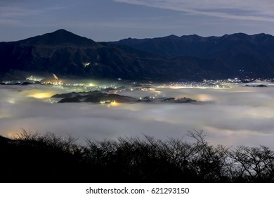 sea of clouds in Saitama, Japan