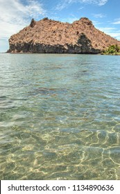 Sea of cortes at LORETO, baja california sur. Mexico