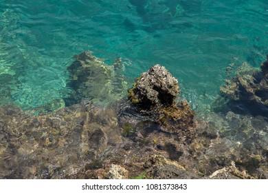 Sea  of Crete island