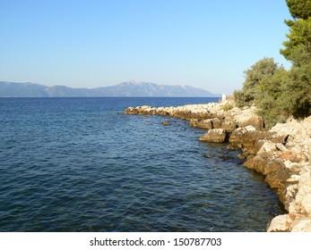 Sea in Croatia