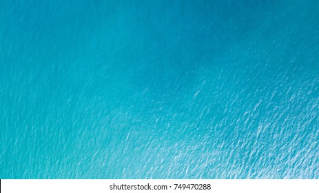 sea from a drone