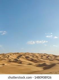 Sea of Dunes at Liwa Desert, AbuDhabi