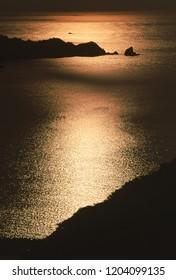 Sea of dusk