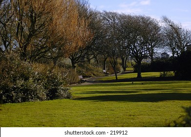 Sea Front Park, Carnoustie, Scotland