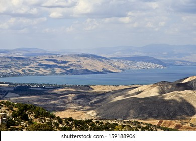 Sea of the Galilee from Jordan