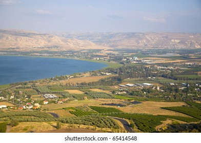 Sea of Galilee, The Jordan valley and Golan Heights