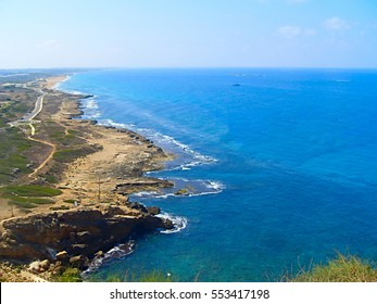 Sea of Galilee taken from north part near Capernaum Israel