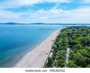 Sea Garden on Burgas Bulgaria